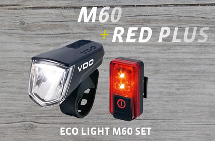 Safety combined with a clear design - VDO ECO LIGHT M60 and ECO LIGHT RED PLUS