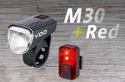 Sicherheit gepaart mit klarem Design – VDO ECO LIGHT M30 und ECO LIGHT RED